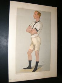 Vanity Fair Print 1889 Guy Nickalls, Rower
